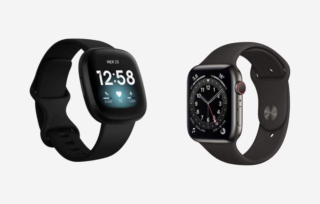 apple watch o fitbit versa