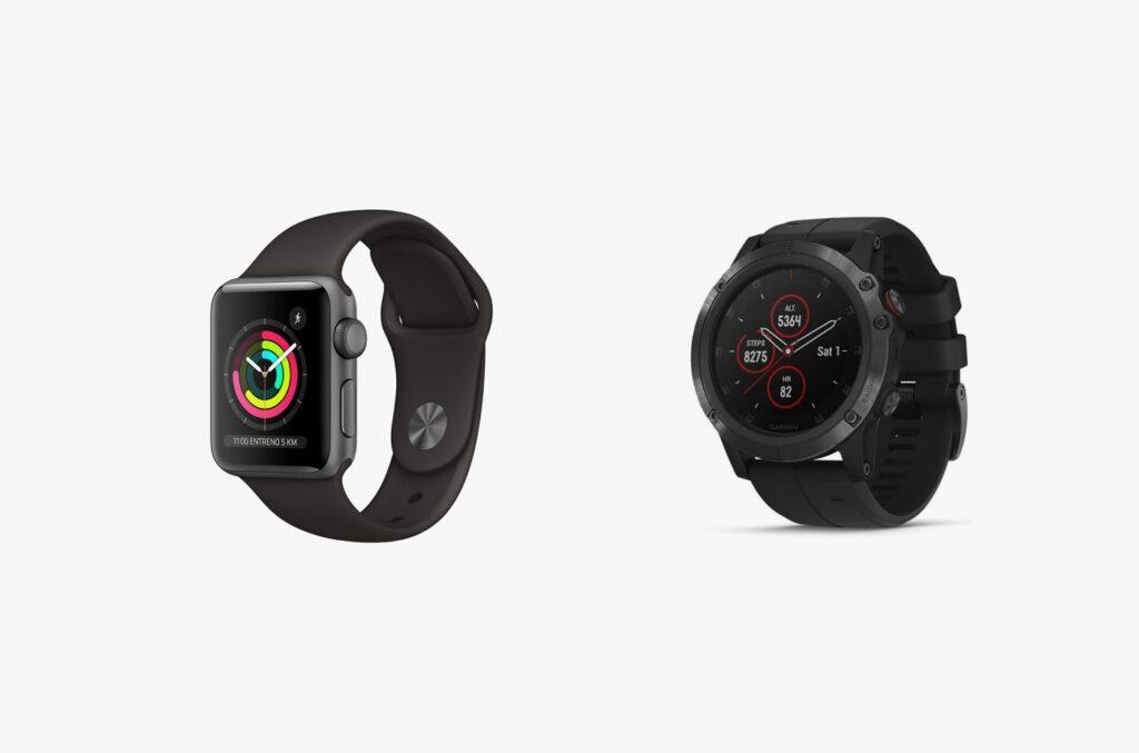 differenze tra apple watch o garmin